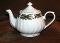Darice Christmas Holly Tea Pot