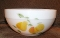 Fire King Anchor Hocking Gay Fad Fruit  Large Mixing Bowl