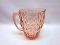 Jeannette Glass Windsor Pink Depression Glass Pitcher