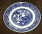 Royal China Company Willow Blue Dinner Plates