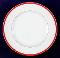 Williams Sonoma Brasserie Red Porcelain Dinner Plates