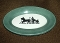Shenango Horse Drawn Carriage Silhouette Restaurant Platters