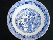 Ridgway Willow Blue Round Vegetable Bowl