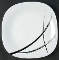 Arcopal Calligraphy Dinner Plates