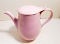 Taylor Smith & Taylor Pebbleford Pink Coffee Pot