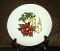 Royal Jackson Poinsettia Holly Candle Luncheon Plate Set