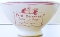 William Sonoma Red Petit Dejeuner Collection Pedestal Bowl Set