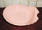 Vintage Fitz & Floyd Pink Shell Serving Bowl