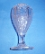 EAPG Indiana Glass Paneled Heather Vase