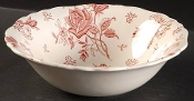 JG Meakin Tudor Rose Pink Vegetable Bowls