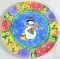 Sango Sue Zipkin Sweet Shoppe Christmas Luncheon Plates