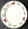 Gibson Designs Winter Birds Dinner Plates