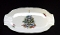 Elizabethan Bone China Seasons Greetings Relish Tray