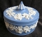 Wedgwood Blue Jasperware Grapevine Large Box