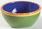 Dansk Caribe Dominican Green Cereal Soup Bowls