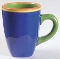 Dansk Caribe Dominican Green Mugs