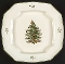 Spode Christmas Tree Square Serving Platter