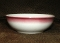 Shenango Lawrence Thriftware Red Airbrush Chili Bowls
