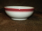 Buffalo China Restaurant Ware Red Airbrush Dessert Bowls
