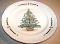 Farberware Stoneware Gingerbread Tree Dinner Plates