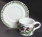 Portmeirion Botanic Garden Heartease Drum Cup Saucer Set