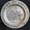 Wilton Armetale 1982 Peace on Earth Christmas Plate